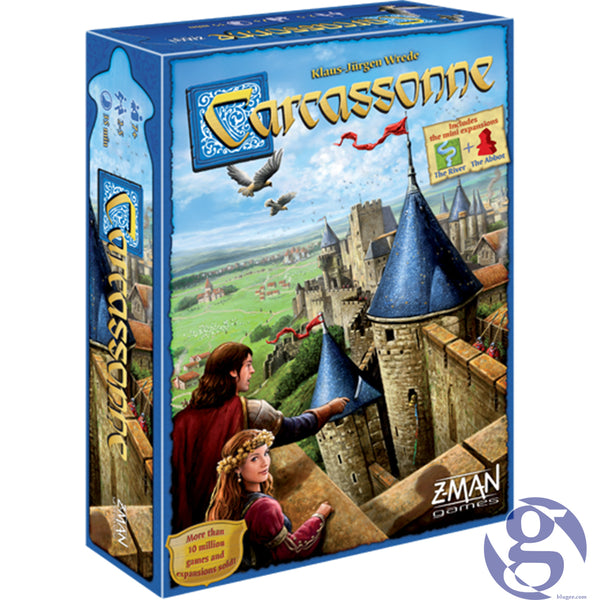 Z-Man Games: ZM7810 - Carcassonne