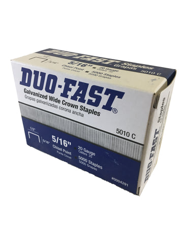 Genuine Duo Fast Staples 5/16""