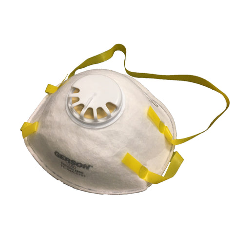 Gerson Respirator w/Valve #1740  N95 10 Count Box