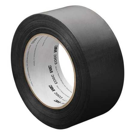"Black Embossed Vinyl Tape 3"" x 50yds"