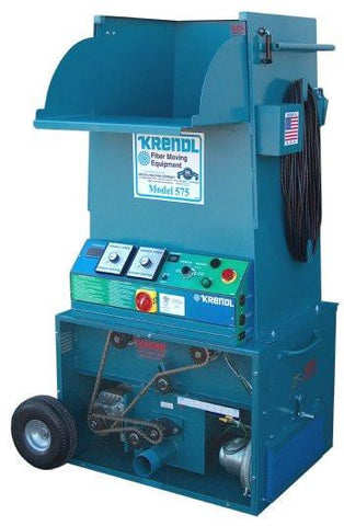 Krendl 575 All-Fiber Insulation Machine Single Input