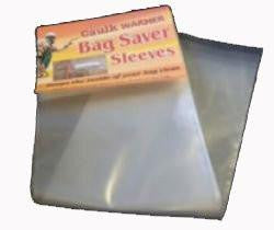 Caulk Warmer Bag Saver Sleeves