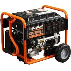 7,500 Watt Generac Generator w/ Electric Start