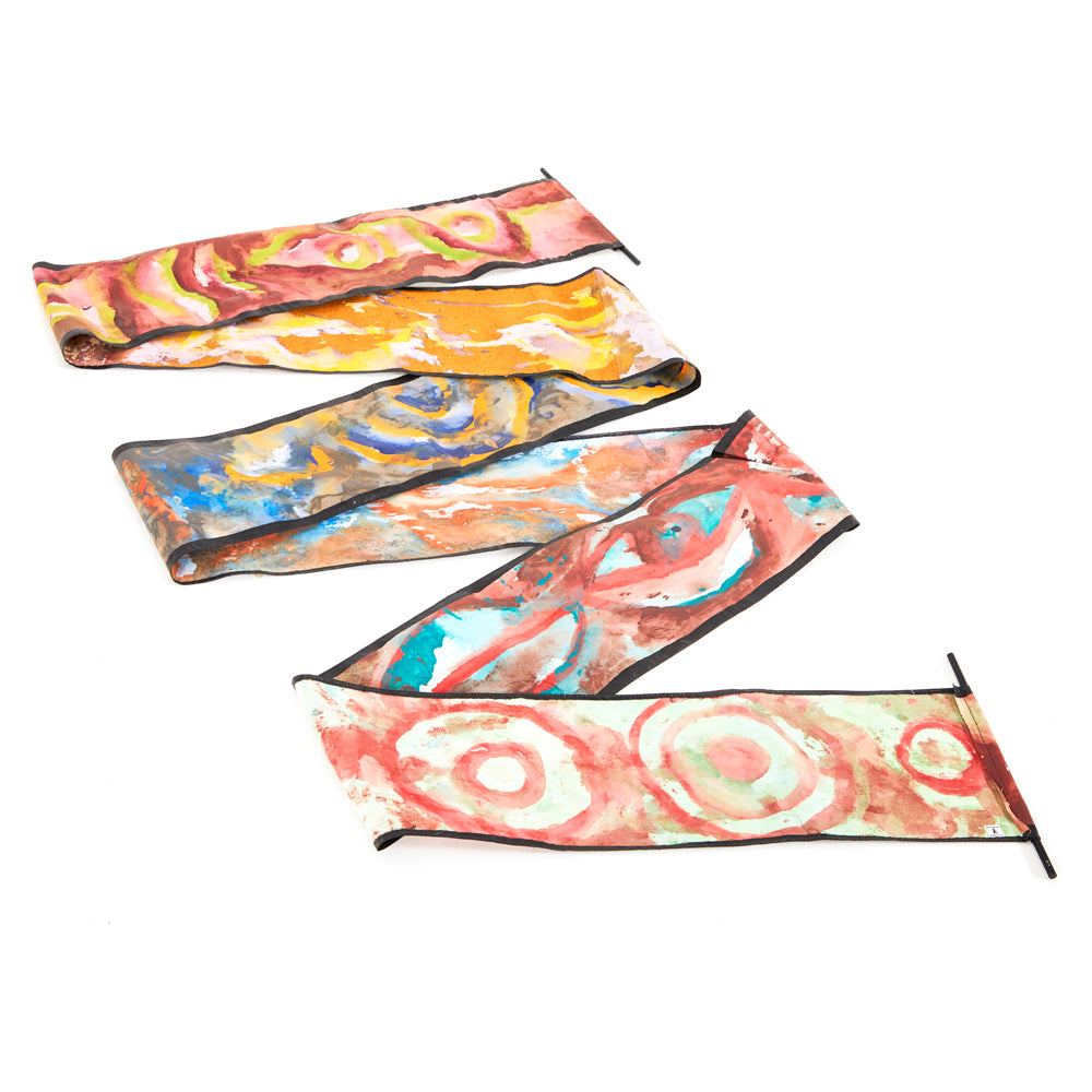 Multicolor BFA Decorative Scroll