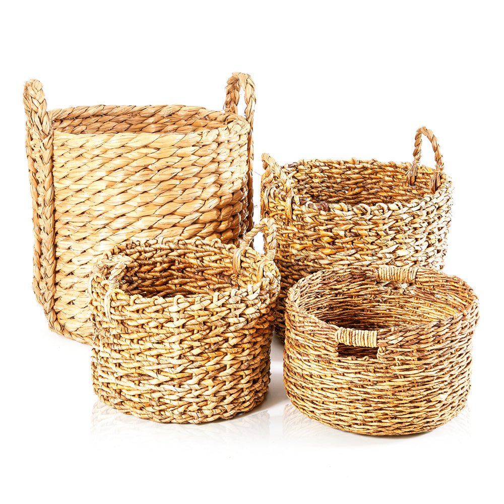 Wicker Woven Basket - Large