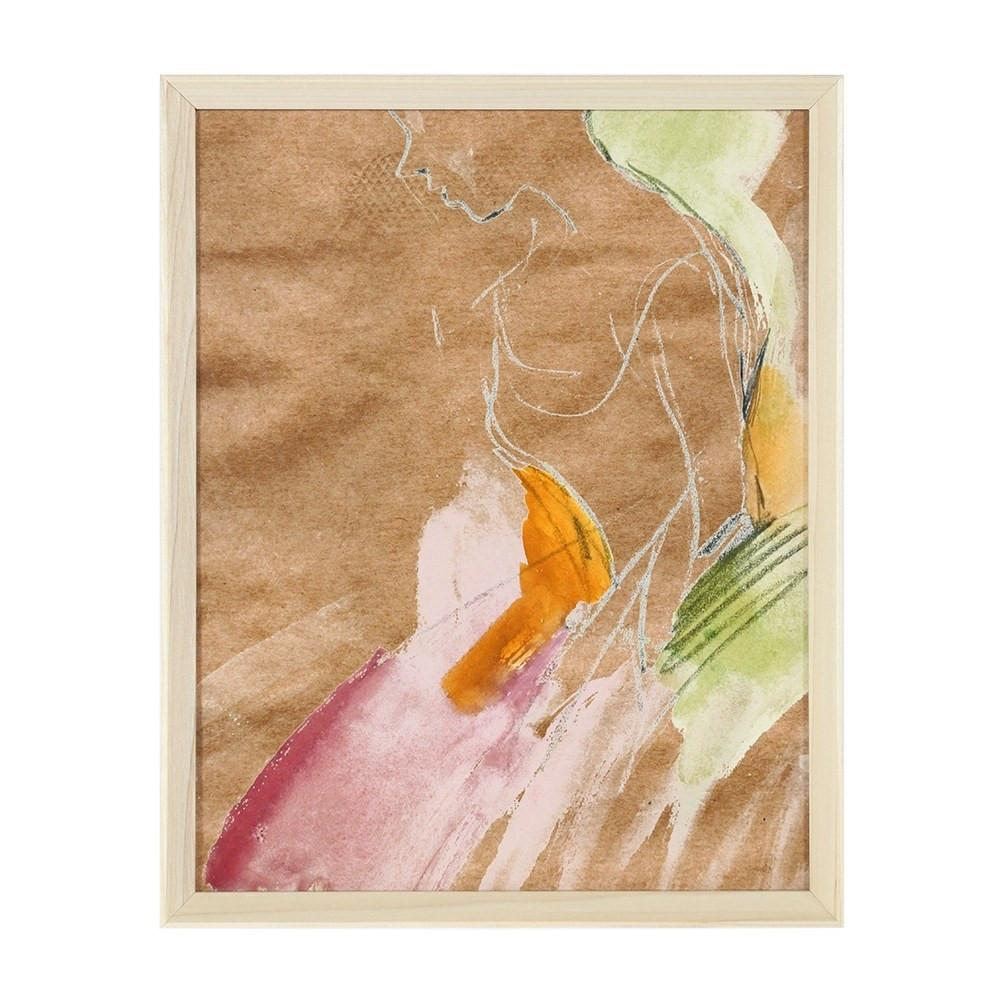 "BFA  100-816 Ballerina Pink Orange (12"" x 15"")"
