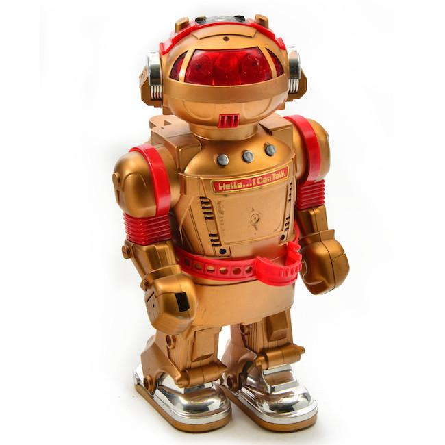 Toy Robot - Gold & Red