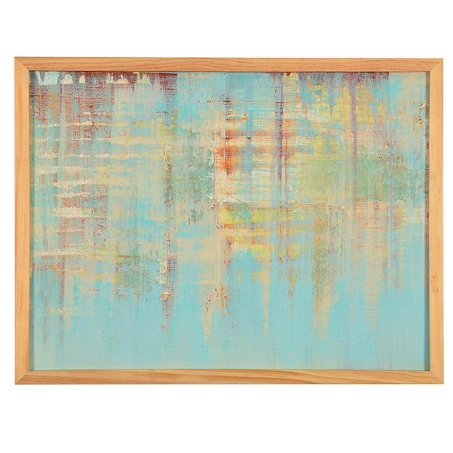 "100-681 Framed Abstract Series E (24"" x 18"")"