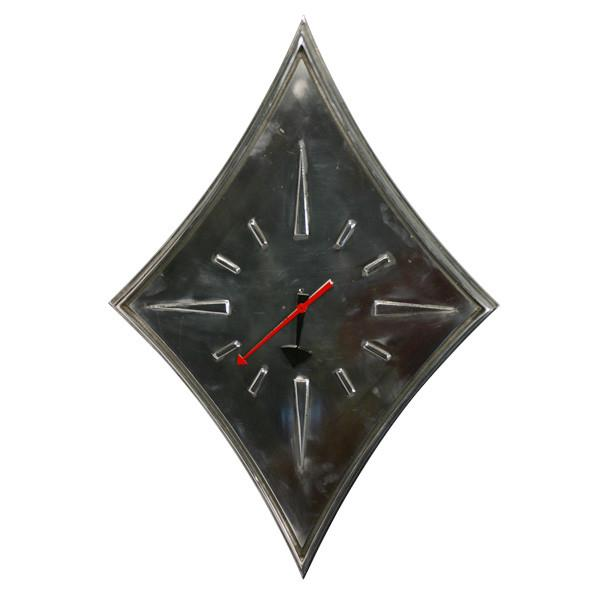 Diamond Chrome Wall Clock