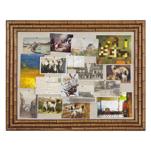"100-254 Pin Board Bamboo (28"" x 22"")"