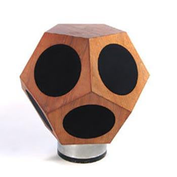 Wood Geometric Speaker