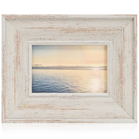 "BFA  100-935 Sunset Beach Grey Frame (10"" x 8"")"