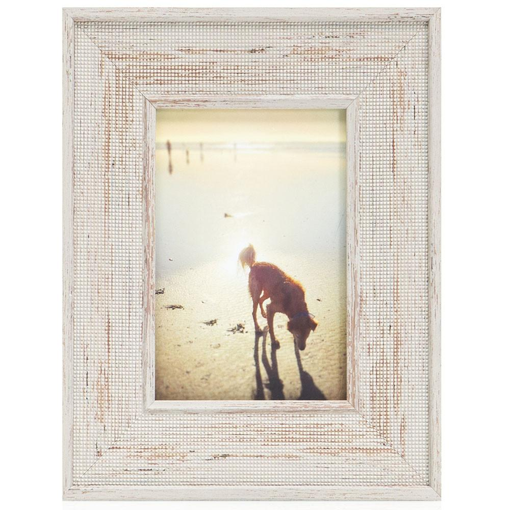 "100-936 Puppy Beach Grey Frame (9"" x 11"")"