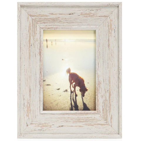 "BFA  100-936 Puppy Beach Grey Frame (9"" x 11"")"