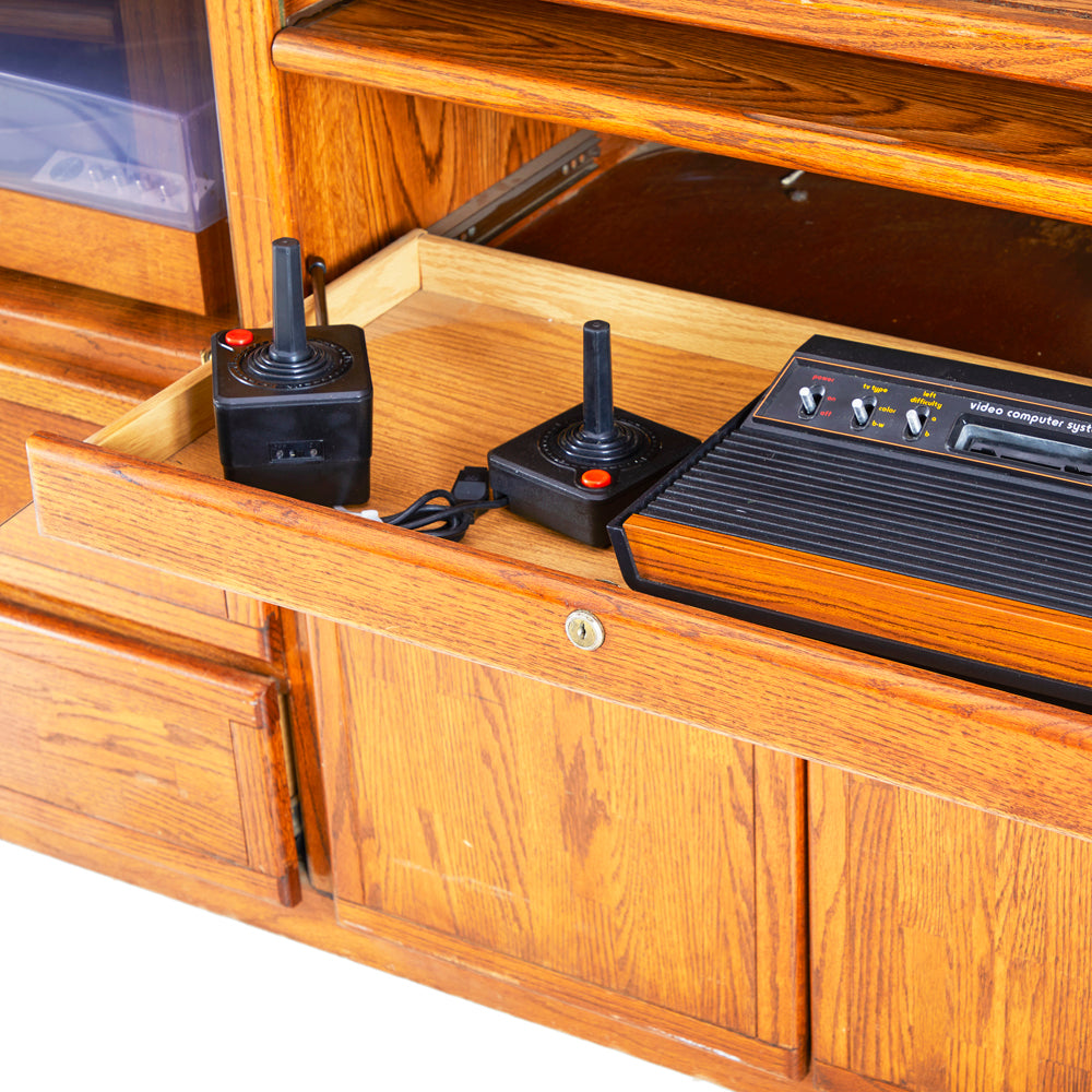Wooden Entertainment Console