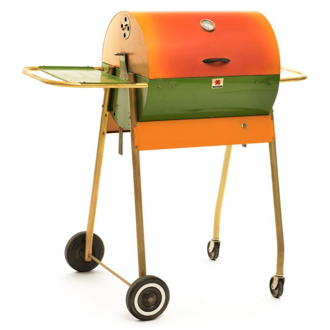 Big Boy Orange + Green Grill