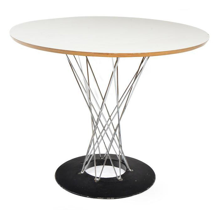 Cyclone Dining Table - White