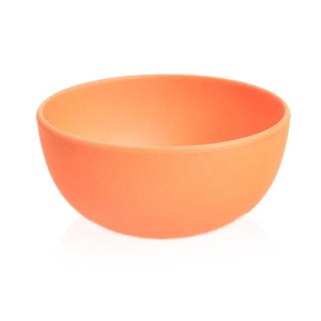 Orange BFA Ceramic Bamboo Fiber Dip Bowl