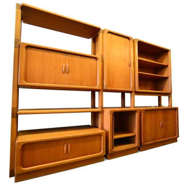 Large Wood Shelving Unit