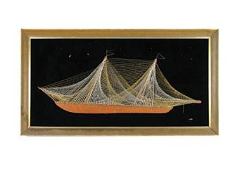 String Sailboat