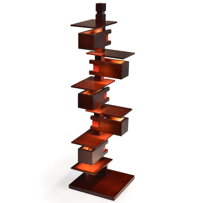 FLW - Taliesin Light Cherry Wine Wood