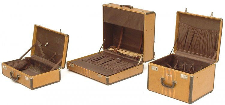 Tan Luggage - 3 Piece