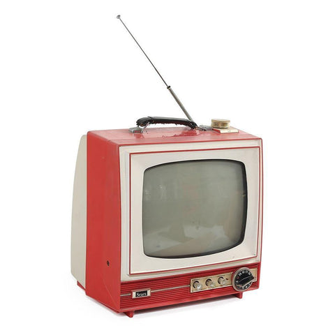 Sears Red TV