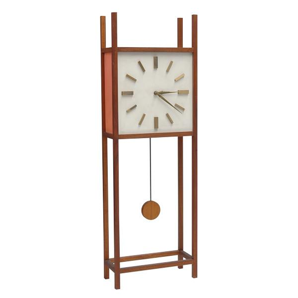 Architectural Wooden Clock