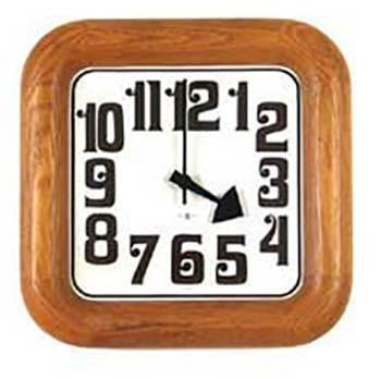 Howard Miller - Square Wood Wall Clock