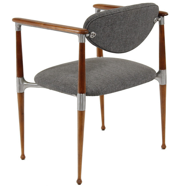 Crucible Grey Dining Arm Chair