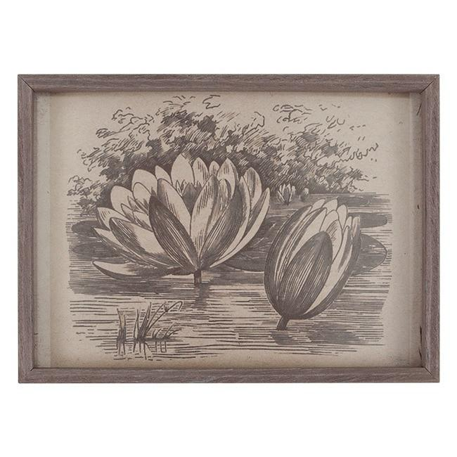 "100-494 Lotus Engraving (5"" x 7"")"
