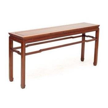 Asian Wood Console Table