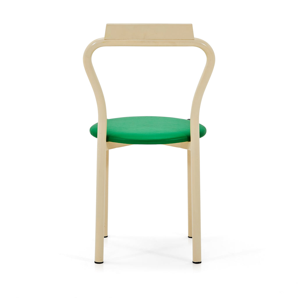 Simple Circle Dining Chair - Green