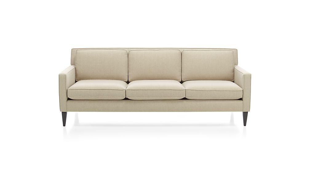 Beige Contemporary Rochelle Sofa