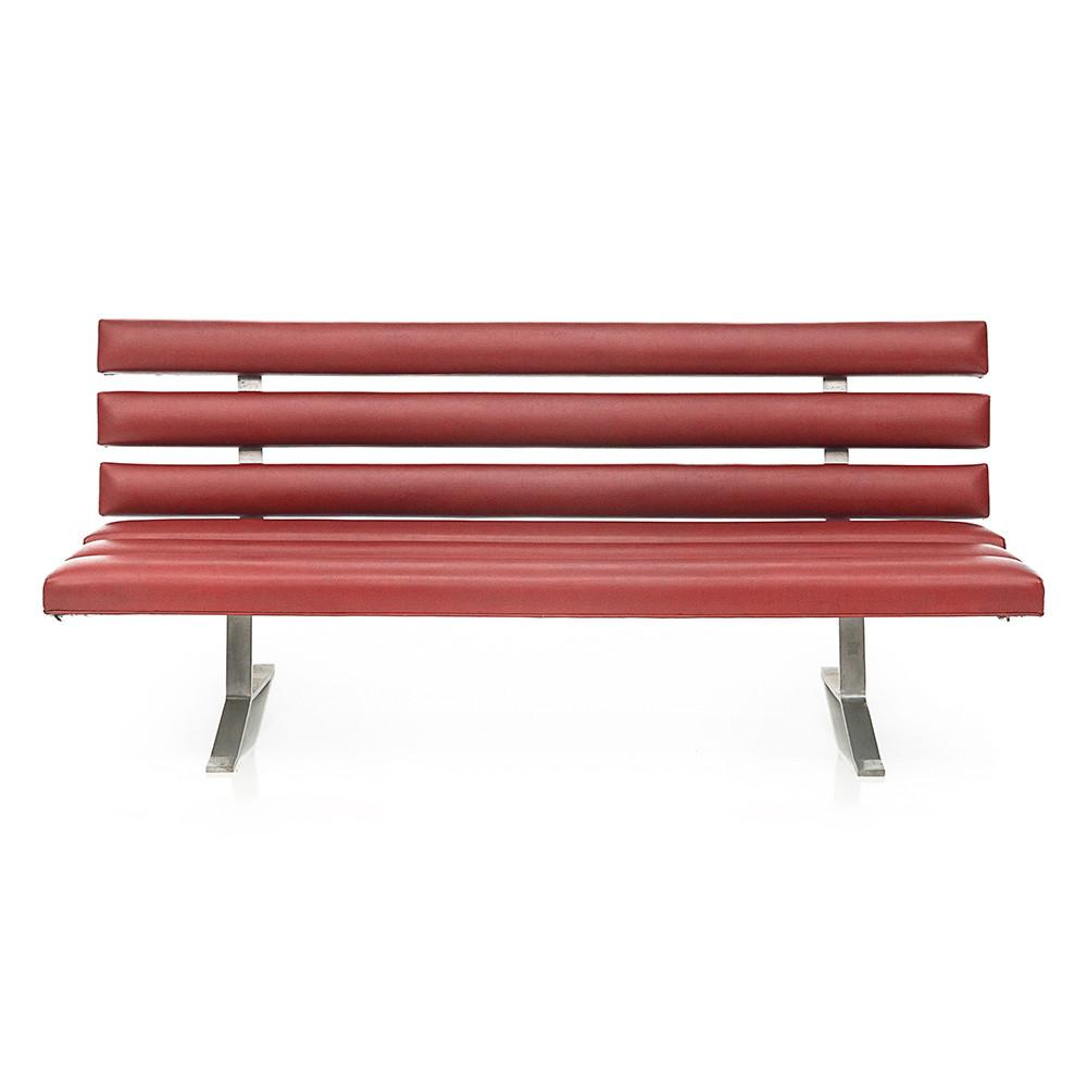 Tootsie Roll Bench - Red