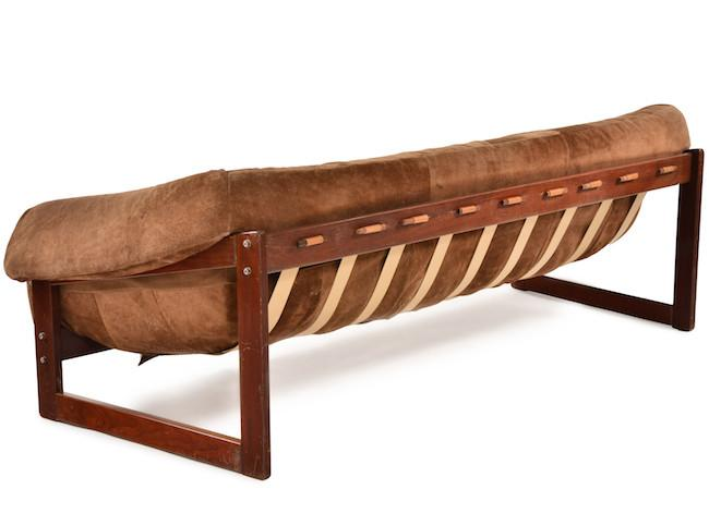 Brown Peg Sofa