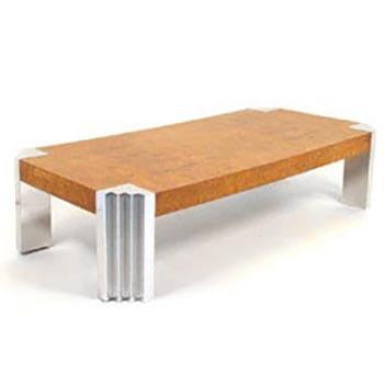 Stepped Leg Coffee Table