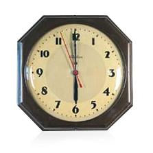 Telechron Octagon Wall Clock