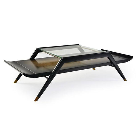 Black Asian Inspired Coffee Table