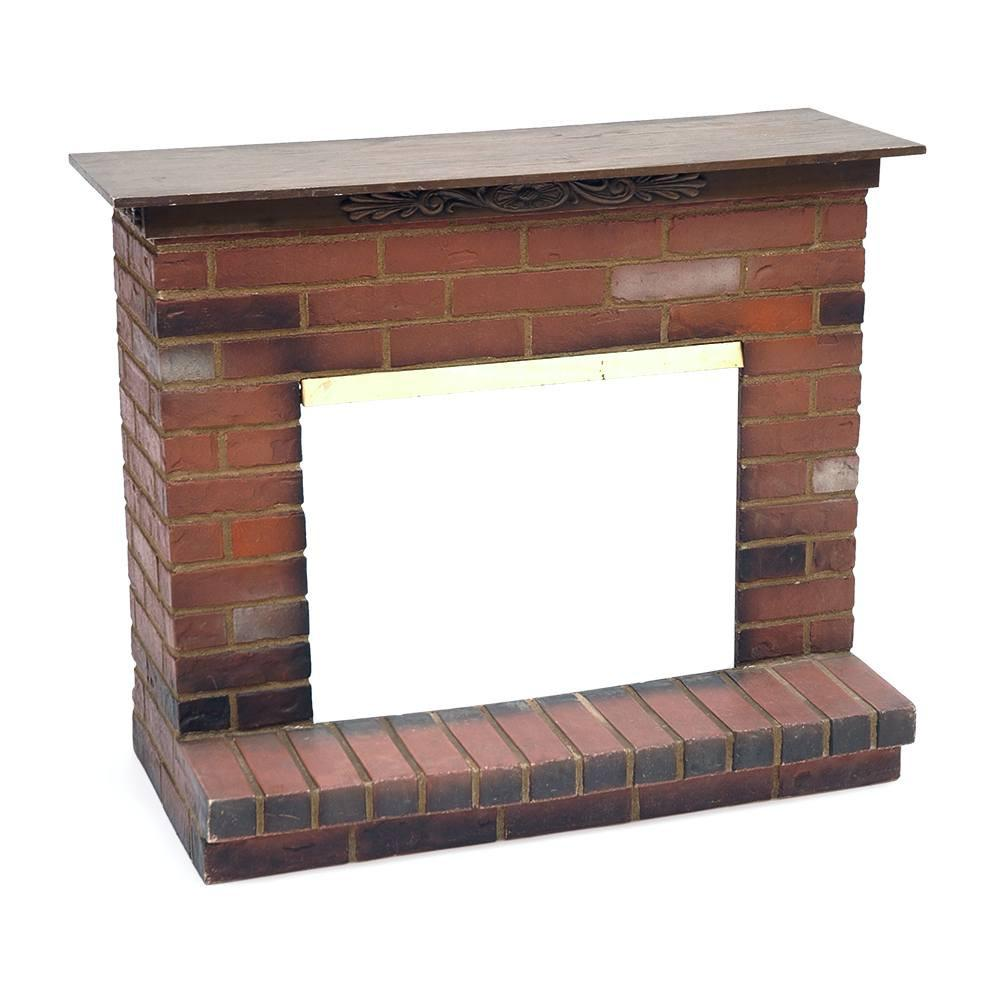 Brick Fireplace Mantel Cover