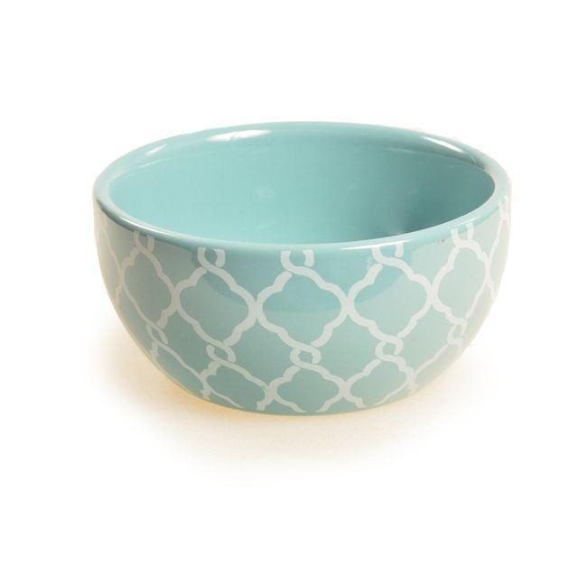 Blue Aqua BFA Ceramic Dip Bowl
