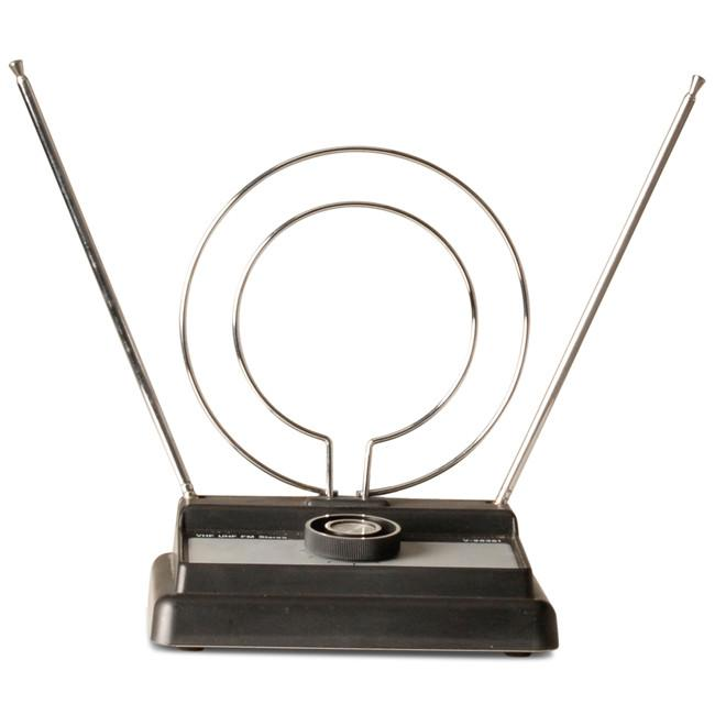 Black and Chrome Antenna