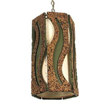 Brown and Green Hanging Pendant