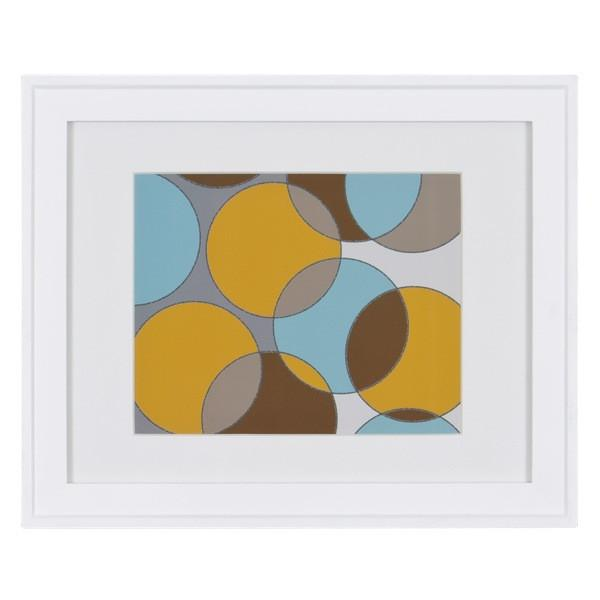 "100-274 Blue Yellow Circles (16"" x 13"")"
