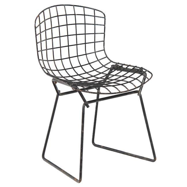 Bertoia Chair - Kid's Black