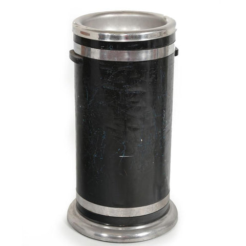 Black and Chrome Ashtray