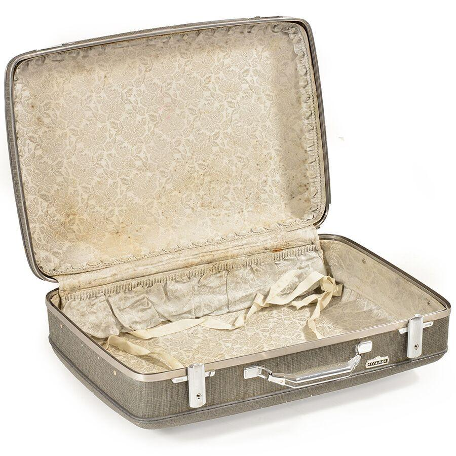 Grey Tiara Suitcase