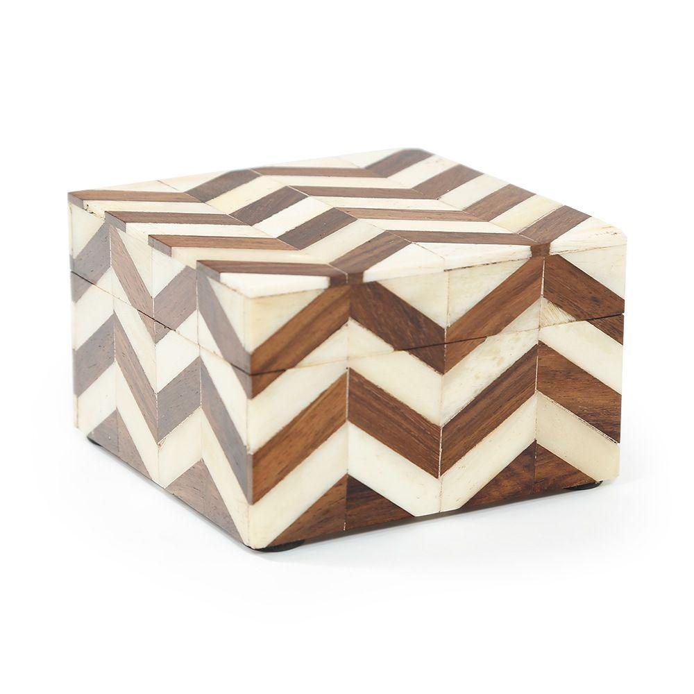 Wood Dark BFA Chevron Box