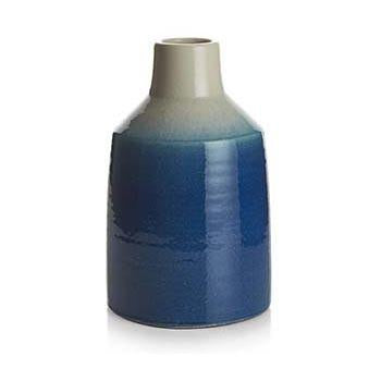Blue BFA Ceramic Fernley Vase