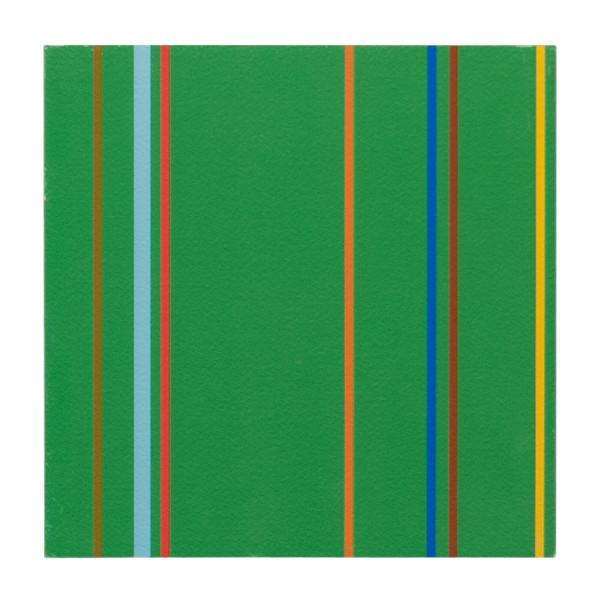 "100-285 Stripes Evergreen (8"" x 8"")"